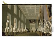 The Antiquities Gallery Of The Academy Of Fine Arts, 1836 Oil On Canvas Carry-all Pouch