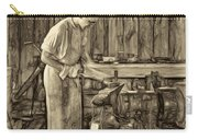 The Apprentice - Paint Sepia Carry-all Pouch