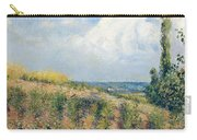 The Approaching Storm Carry-all Pouch by Camille Pissarro