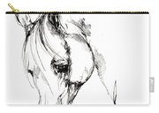 The Arabian Horse Sketch Carry-all Pouch