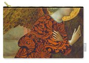 The Archangel Gabriel Carry-all Pouch by Tommaso Masolino da Panicale