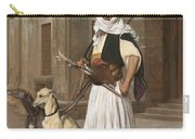 The Arnaut With Two Whippets Carry-all Pouch