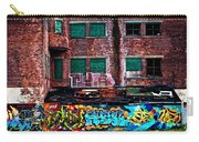 The Art Of The Streets Carry-all Pouch by Karol Livote