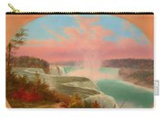 The Artist At Niagara Carry-all Pouch