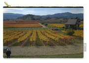 The Artist In The Vineyard Carry-all Pouch
