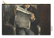 The Artists Father Reading L Evenement Carry-all Pouch