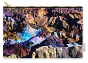 The Artists Palette Death Valley Carry-all Pouch