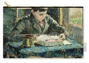 The Artists Son Carry-all Pouch by Camille Pissarro
