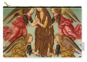 The Ascension Of Saint Mary Magdalene Carry-all Pouch