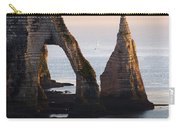 The Aval Door In Etretat  France  Carry-all Pouch