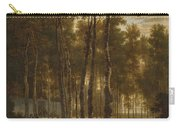 The Avenue Of Birches Carry-all Pouch