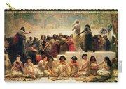 The Babylonian Marriage Market, 1875 Carry-all Pouch by Edwin Longsden Long