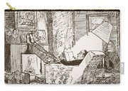 The Bachelor, Illustration From Pont An Carry-all Pouch