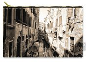 The Back Canals Of Venice Carry-all Pouch
