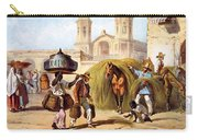 The Baker And The Straw Seller, 1840 Carry-all Pouch