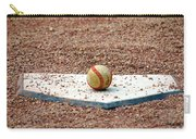 The Ball Of Field Of Dreams Carry-all Pouch by Susanne Van Hulst