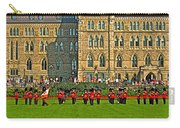 The Band Played On In Front Of Parliament Building In Ottawa-on Carry-all Pouch