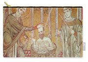 The Baptism Of St. Paul By Ananias, From Scenes From The Life Of St. Paul Mosaic Carry-all Pouch