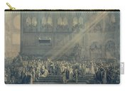 The Baptism Of The King Of Rome 1811-32 At Notre-dame, 10th June 1811, After 1811 Engraving Carry-all Pouch