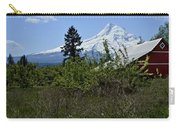 The Barn And  Mt. Hood Carry-all Pouch