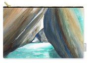 The Baths Turquoise Carry-all Pouch