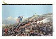 The Battle Of Alma On 20th September Carry-all Pouch by Edmund Walker