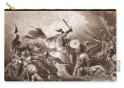 The Battle Of Hastings, Engraved Carry-all Pouch