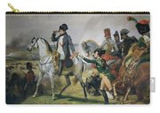 The Battle Of Wagram, 6th July 1809, 1836 Oil On Canvas Carry-all Pouch