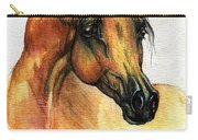 The Bay Arabian Horse 14 Carry-all Pouch