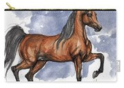 The Bay Arabian Horse 17 Carry-all Pouch