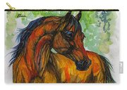 The Bay Arabian Horse 3 Carry-all Pouch
