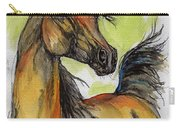 The Bay Arabian Horse 5 Carry-all Pouch