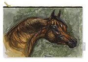 The Bay Arabian Horse Carry-all Pouch