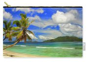 The Beach At Anse Gaulettes Carry-all Pouch