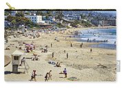 The Beach At Laguna Carry-all Pouch