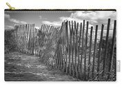 The Beach Fence Carry-all Pouch by Scott Norris