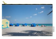 The Beach In Hollywood Florida Carry-all Pouch