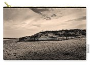The Beach In Sepia Carry-all Pouch