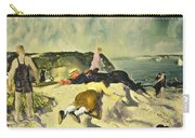 The Beach Newport Carry-all Pouch by George Wesley Bellows
