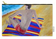 The Beach Towel Carry-all Pouch