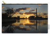 The Beaches Marina At Sunset Carry-all Pouch