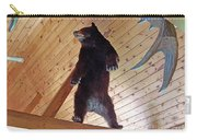 Come And Get Me Down From Here...signed The Bear Carry-all Pouch