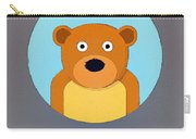 The Bear Cute Portrait Carry-all Pouch