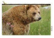 The Bear Dry Brushed Carry-all Pouch