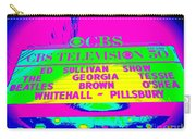 The Beatles Debut On Ed Sullivan Carry-all Pouch