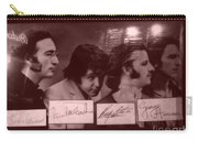 The Beatles In Old Photo Process At Fudruckers Carry-all Pouch