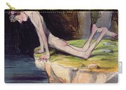The Beautiful Narcissus Carry-all Pouch by Honore Daumier