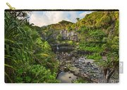 The Beautiful Scene Of The Seven Sacred Pools Of Maui. Carry-all Pouch