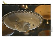 The Beauty Of A Vintage Glass Ceiling Light Carry-all Pouch