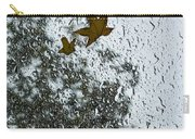 The Beauty Of Autumn Rains - A Vertical View Carry-all Pouch